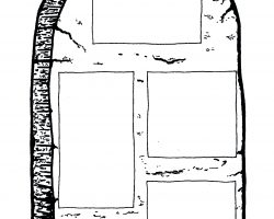 Steintafel mit den Geboten