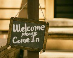 """""""Herzlich Willkommen"""" – eine andere Gruppe zu Gast"""