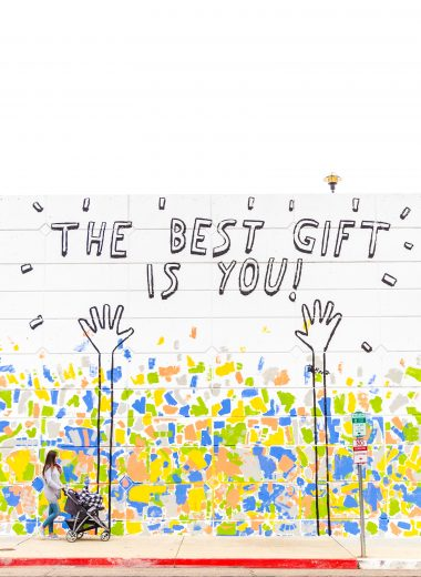 The best gift is you!