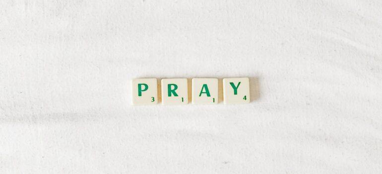 Fancy Gebetsparcours zu den 4Punkte-Armbändern