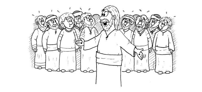 Begegnung mit dem Auferstandenen