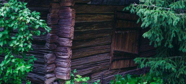 Der Holzschuppen