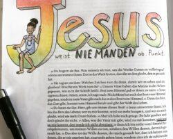 BibleArtJournaling – die kreative Begegnung mit der Jahreslosung